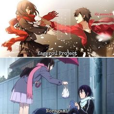 anime: Kagerou Project or Noragami? 💕😍😍--👉🏿 Why look up at the stars when the biggest star is me --👉🏿 💚 👻 ⏩ Animes To Watch, Anime Watch, Otaku Anime, Anime Art, Touka Wallpaper, Anime Films, Anime Characters, Persona Anime, Mega Anime