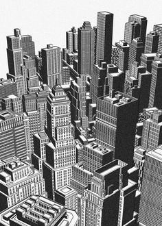 New York Cityscape, Built Environment, Freelance Illustrator, Detailed Image, Willis Tower, How To Draw Hands, Architecture, Illustration, Travel
