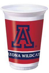 University of Arizona Plastic Beverage Cups