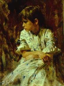 The portrait that inspired me the most by an artist I adore. Painted by Richard Schmid