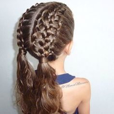 5 Strand French Loop Braid