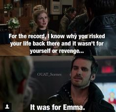 Once upon a time - hook did it for Emma