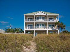 DIAMOND BEACH St. George Island vacation rentals in St. George Island, FL -- Book now: www.ficklingvacationrentals.com    #sunset #boat #beautiful #magical #mustsee #sunrise #familyvacation #beachhouse #forgottencoast