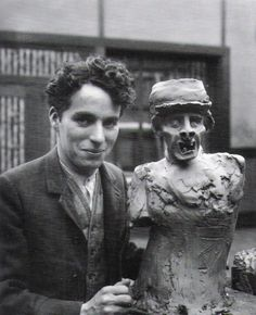 """Can we just mention how absolutely beautiful Charlie Chaplin is? (And I do mean """"is,"""" for fantastic actors never really die. Rather, they seem to nest themselves inside one's heart, specifically: mine.)"""