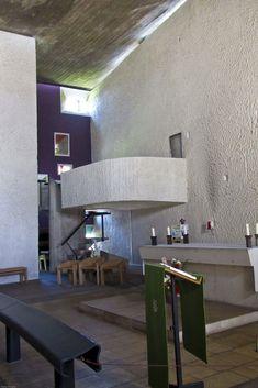Chapelle Notre Dame du Haut. Ronchamp, France. 1955. Le Corbusier