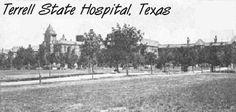Terrell State Hospital, TX
