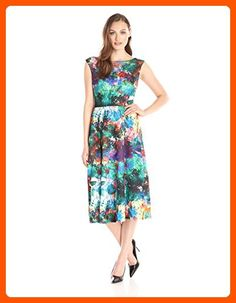 79e0a4d9656 online shopping for Betsey Johnson Women s Printed Scuba Pleated Dress from  top store. See new offer for Betsey Johnson Women s Printed Scuba Pleated  Dress
