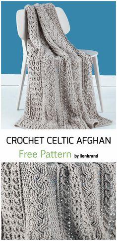 Crochet blanket patterns 823947694313962538 - Crochet Celtic Afghan Baby Blanket – Free Pattern Source by Eve_crochetaholic