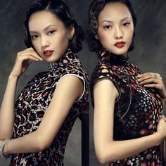 Tempting Rose Shanghai Style Vevelt Costumes  - $309 - SKU: 038529 - Custom Now: http://elegente.com/redshop.html #REDPALACE #Cheongsam #Qipao
