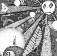 Nightmare Before Christmas (Unfinished) by ~rinnytie on deviantART