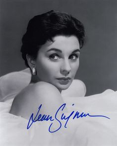 Signed Original Photo of Jean Simmons of 1950's Films | eBay
