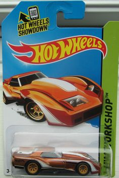 NEW 2014 HOT WHEELS SUPER TREASURE HUNT  1976 GREENWOOD CORVETTE.