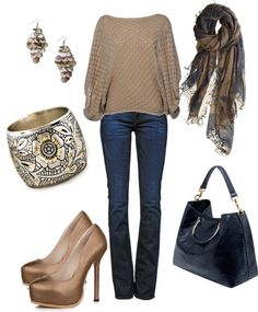 """""""When it's Chilly"""" by deborah-simmons ❤ liked on Polyvore"""