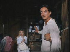 CHEYENNE WARRIOR (1994). Actors: Pato Hoffmann and Kelly Preston.