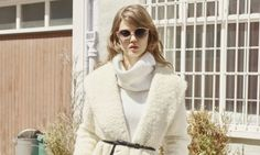 Lindsey Wixson Wears Fall Outerwear in Bergdorf Goodman Catalogue - Fashion Gone Rogue