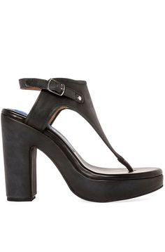 The Kelis Shoe in Black   from #JeffreyCampbell