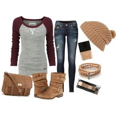 """""""Laid Back Fall Fashion"""" by daisylovee on Polyvore"""