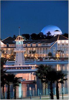 Walt Disney World Beach Club And The Yacht 1992 Both Of These