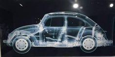 VW BEetle X-ray...
