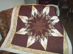 Lone Star Quilt I made Lone Star Quilt Pattern, Star Quilt Patterns, Star Quilts, Shining Star, Blanket, Stars, Kids, Quilting, Crafts