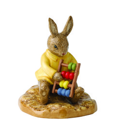 The wonderful world of Bunnykins by Royal Doulton is full of exciting Bunnykins characters and thrilling adventures. Bunnykins figures are collected and cherished by young and old all over the world. Each charming figure has been skillfully handmade and hand decorated.