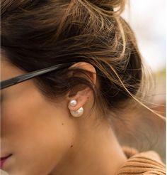Dior-Inspired Tribal Earrings