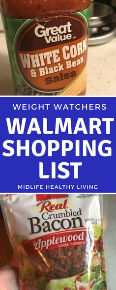 One of the main advertising points for Weight Watchers and especially the new Weight Watchers Freestyle programs is that you can eat anything! That can make shopping even more tricky as it turns out! Figuring out Weight Watchers food to buy from Walmart i Weight Watchers Snacks, Weight Watcher Dinners, Weight Watchers Tipps, Weight Watcher Shopping List, Programme Weight Watchers, Weight Watchers Smart Points, Weight Loss, Weight Watcher For Free, Diet