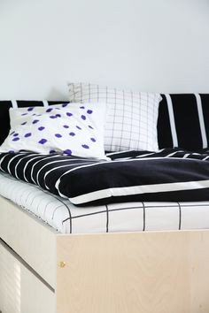 mainio lakanat hunajaista Nordic Design, Season Colors, Bedrooms, Colours, Inspiration, Furniture, Home Decor, Biblical Inspiration, Decoration Home