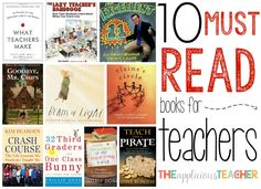 As teachers we're constantly reading. Like seriously… Data charts IEPs, meeting notes, emails, student chicken scratch (I mean what word is that??). The last thing we want to do when we get home is to READ anything else, I'm sure… But these books? These books are the books teachers should read. The kind that touch …