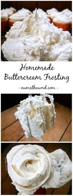 Looking for the perfect cake or cupcake frosting? Try this 5 minute homemade buttercream frosting. Its perfect with any flavor cake and the best