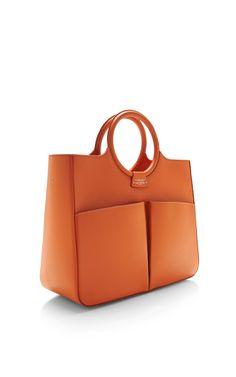 Fairchild Baldwin Victoria Bag In Orange