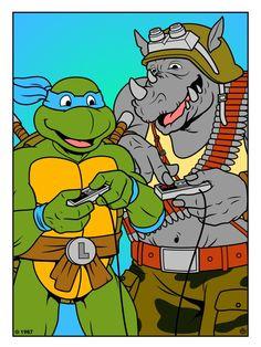 Kawabounga tmnt vs mario parodie pinterest ninja turtles ninja et teenage mutant ninja - Mechant tortues ninja ...