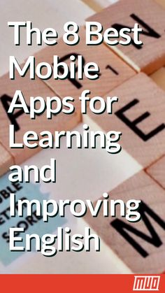 Looking to learn English? These Android and iPhone apps will help you learn and improve English (plus other languages). Best English Learning App, English Learning Spoken, Teaching English Grammar, English Language Learning, English Vocabulary Words, English Phrases, English Learning Course, Best Learning Apps, Best Language Learning Apps