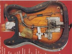 Back of Clarence White's Telecaster