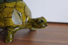 Lonely Lighthouse Turtle Lamp Turtle by WoodenSquirrelatWork