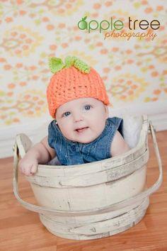 Halloween Pumpkin Beanie