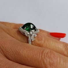 Make them green with envy #diamondsdirect  @colorsourcegems