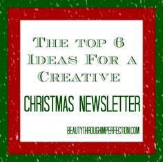 These are really fun ideas to get you started writing a creative christmas newsletter! Definitely going to have to use one of these this year! SO FUN! Christmas Trends, Little Christmas, Family Christmas, All Things Christmas, Christmas Holidays, Christmas 2017, Christmas Crafts, Christmas Letter Template, Christmas Letters
