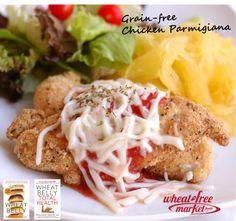Chicken Parm (Grain Free!)