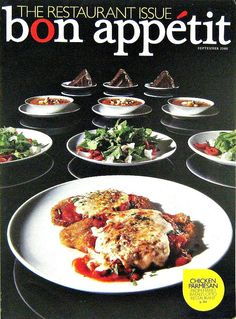 Buy any of our magazines at regular price and get 50% off on a second. The Restaurant Issue, Bon Appetit Cooking Magazine, Sept 2008 Vol. 53, No. 9