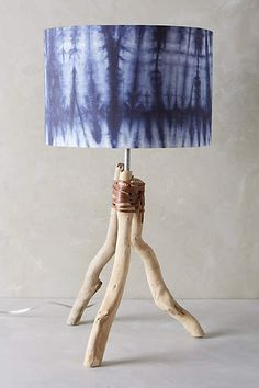 Branched Tripod Table Lamp Ensemble - anthropologie.com