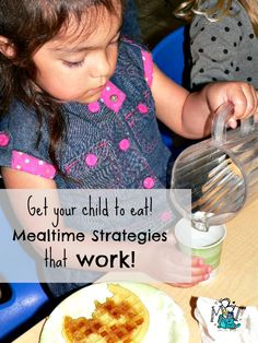 Strategies to help with mealtime