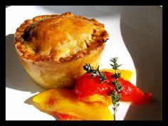 Grilled Vegetable Pies with Hot Water Crust Vegetable Pie, Grilled Vegetables, Grilling, Muffin, Foods, Breakfast, Water, Hot, Vegetable Tart