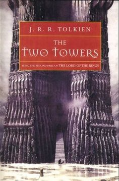 The Two Towers (The Lord of the Rings #2)  The Fellowship was scattered. Some were bracing hopelessly for war against the ancient evil of Sauron. Some were contending with the treachery of the wizard Saruman. Only Frodo and Sam were left to take the accursed Ring of Power to be destroyed in Mordor–the dark Kingdom where Sauron was supreme. Their guide was Gollum, deceitful and lust-filled, slave to the corruption of the Ring.