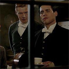 Thomas Barrow and Alfred | Downton Abbey
