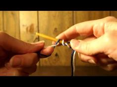 Christina Creating: Two Colour Double Knit Cast On