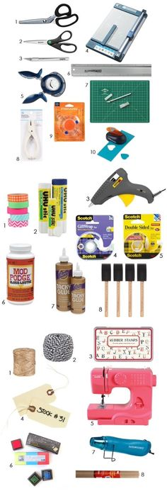 'DIY Tools to Live By: Best Crafting Basics...!' (via Apartment Therapy)