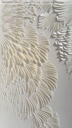 «Quasimodo Remixed» Series - #4 detail | domitilla biondi paper carving