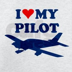 My husband was a pilot and flying is his passion. My hope and dream is that he could some day be able to fly again.