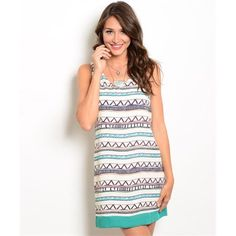 SALE Jade and Ivory Dress This dress has adorable prints. Perfect for school or the office! Dresses